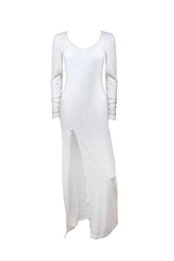 Vestito lungo Fuori Acqua Bianco Frontale